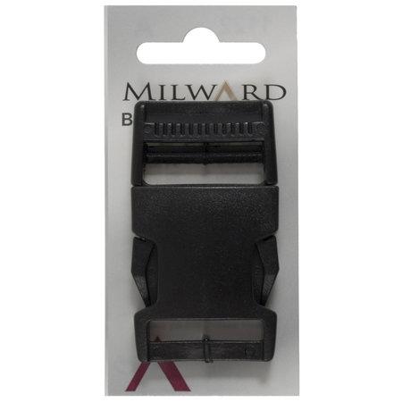 Milward Gespsluiting zwart (1122)