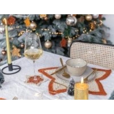 Durable Haakpatroon A Starry Christmas Table