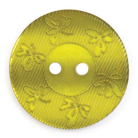 Milward Knoop glans met werkje  17 mm (0228)