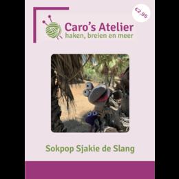Caro's Atelier Haakpatroon Sokpop Sjakie de Slang (digitaal)
