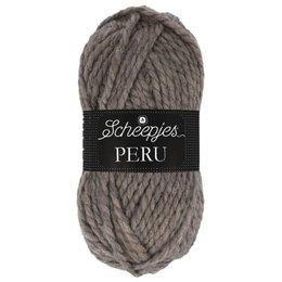 Scheepjes Peru 030 - donkerbruin