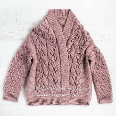 Outstanding Crochet Garenpakket: Olea Cardigan