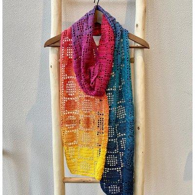 Caro's Atelier Haakpakket Porto Polkadot Sjaal