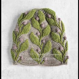 Outstanding Crochet Garenpakket: Hedera Hat
