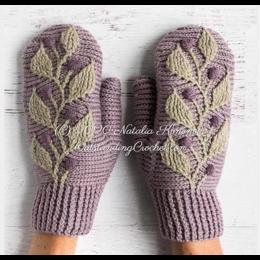 Outstanding Crochet Garenpakket: Hedera Wanten