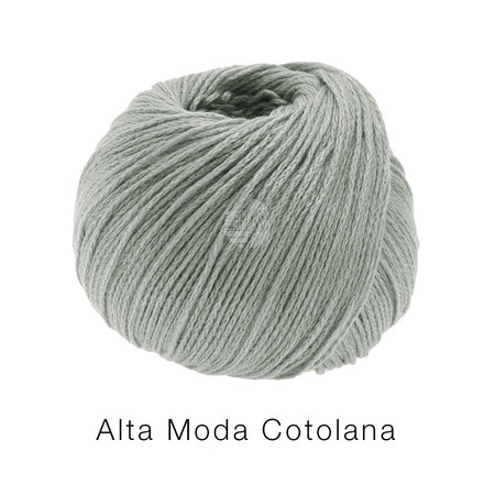 Lana Grossa Alta Moda Cotolana 09 - Groengrijs
