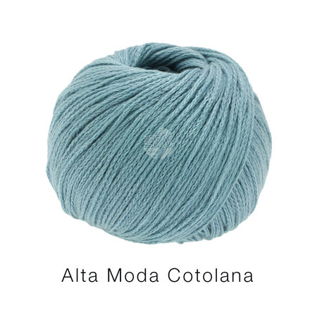 Lana Grossa Alta Moda Cotolana 12 - Pastelturkoois