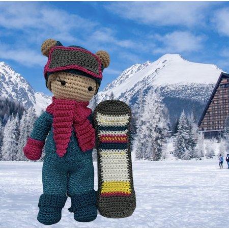 VOORORDER: Haakpakket: Wintersport Outfit  Carolientje
