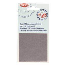 Opry Reparatiedoek Opstrijkbaar Grijs (004)