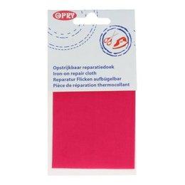Opry Reparatiedoek Opstrijkbaar Fuchsia (786)