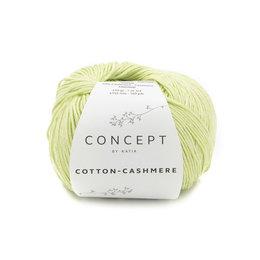 Katia Cotton cashmere Pistache (76)