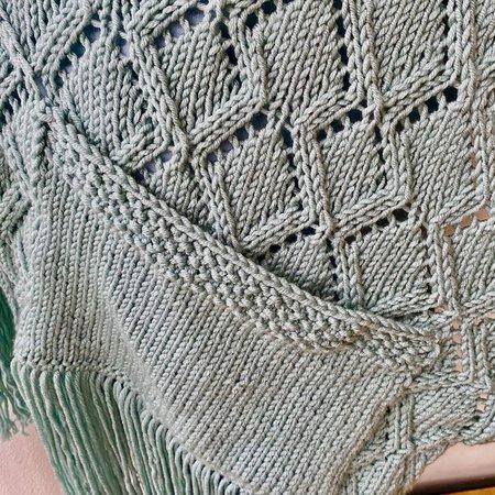 Caro's Atelier Breipakket Panama Pocket Shawl