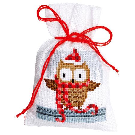 Vervaco Borduurpakket Kruidenzakje Kerstfiguren II