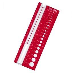 KnitPro Breinaaldenmeter 2-12 mm
