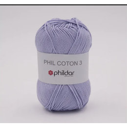 Phildar Phil Coton 3 Parme (2424)