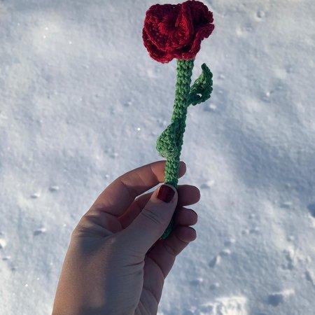 Caro's Atelier Haakpatroon Valentijns Roos