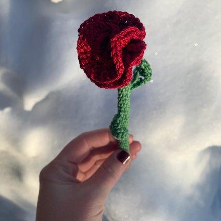 Caro's Atelier Haakpakket: Valentijns Roos