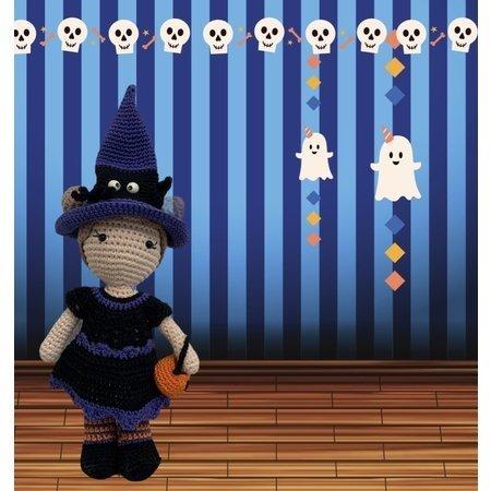 Caro's Atelier Haakpatroon Halloween Outfit Carolientje (digitaal)