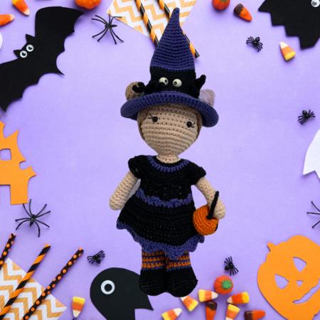 Caro's Atelier Haakpatroon Halloween Outfit Carolientje (boekje)