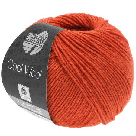 Lana Grossa Cool Wool 2066 - Oranjerood