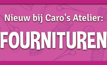 Nieuw bij Caro's Atelier: Fournituren