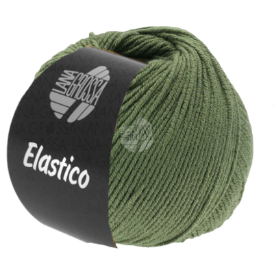 Lana Grossa Elastico 156 - Oleander Groen