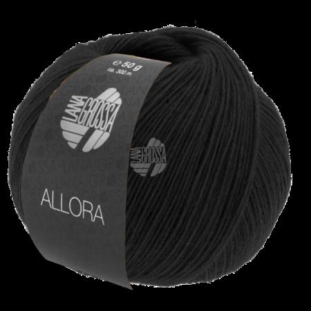 Lana Grossa Allora 09 - Zwart