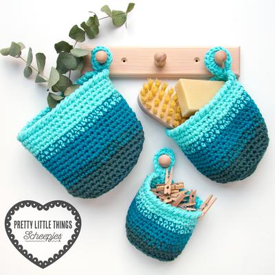 Scheepjes Haakpakket: Spruce Up Baskets
