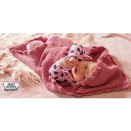Durable Haakpatroon Babycape