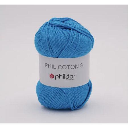 Phildar Phil Coton 3 - 2025 - Lagon