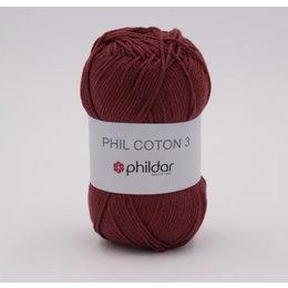 Phildar Phil Coton 3 - 2780 - Aubergine