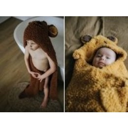 Durable Haakpatroon Baby- & Kleutercape Teddy
