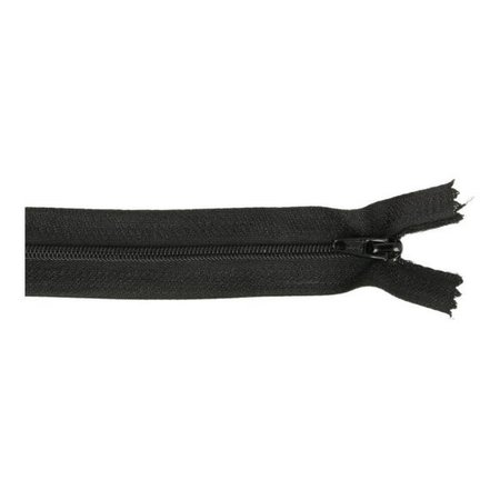 Rits zwart 580 - 30 cm