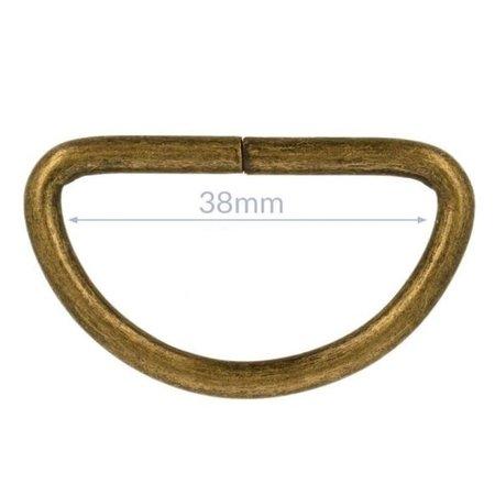 D ring 38 mm (2 stuks)
