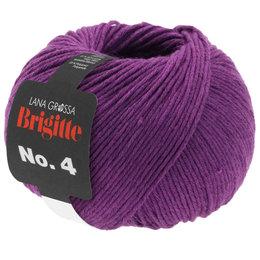 Lana Grossa Brigitte No.4 - 24 - Rood Violet