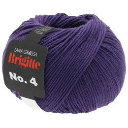 Lana Grossa Brigitte No.4 - 25 - Donker Violet