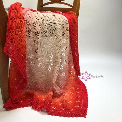 Garenpakket: Lovely Leaves Blanket