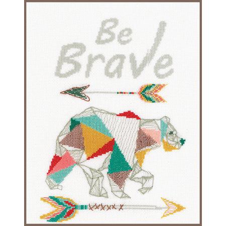 Vervaco Borduurpakket Be Brave