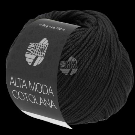 Lana Grossa Alta Moda Cotolana 17 - Zwart