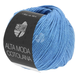 Lana Grossa Alta Moda Cotolana 15 - Blauw