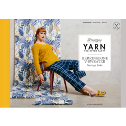 Scheepjes Yarn afterparty 98: Herringbone V-Sweater