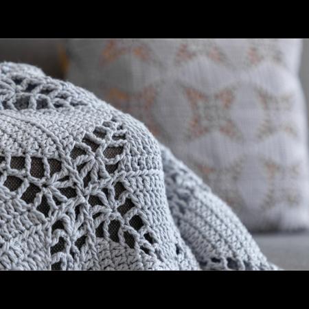 Durable Haakpatroon Lucky Star Blanket