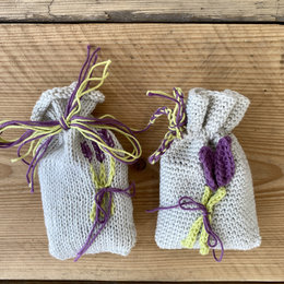 Caro's Atelier Haak- & Breipatroon Lavendel geurzakjes