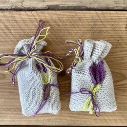 Caro's Atelier Haak- & Breipakket: Geurzakjes Lavendel