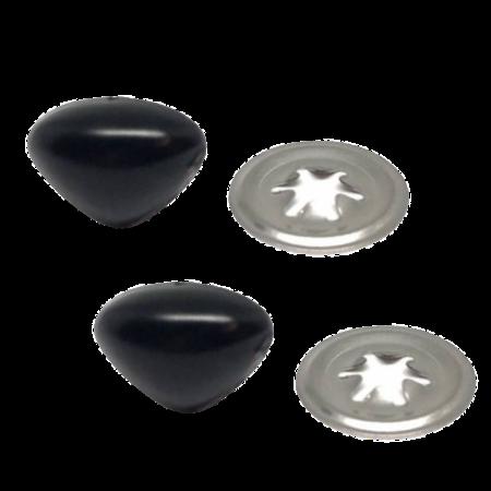 Veiligheidsneus driehoek zwart