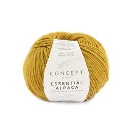 Katia Essential Alpaca 84 - Mosterdgeel
