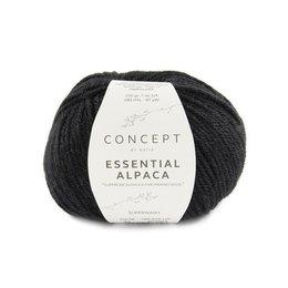 Katia Essential Alpaca 89 - Zwart