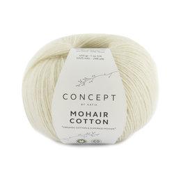 Katia Mohair Cotton 70 - Ecru