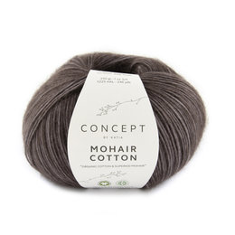 Katia Mohair Cotton 80 - Aubergine