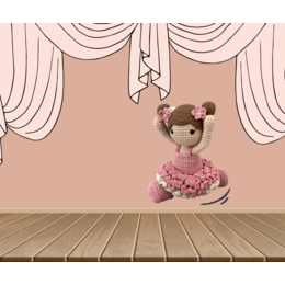 Haakpakket: Ballerina outfit Carolientje